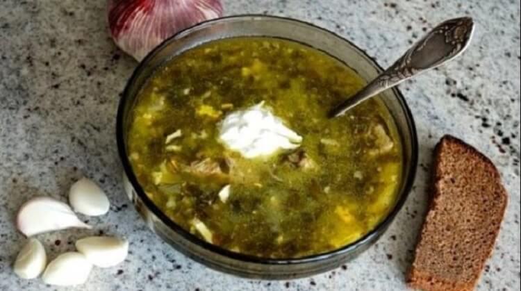 Самый вкусный домашний зеленый борщ, секрет приготовления