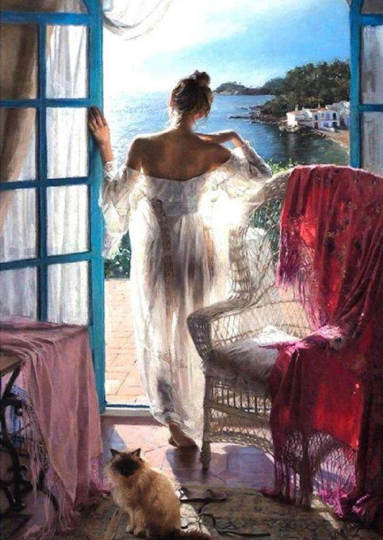 Восхитительные работы испанского художника, который сумел нарисовать свет